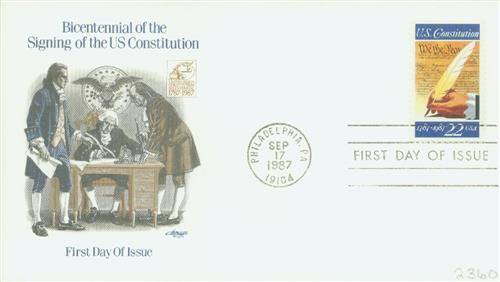 1987 22c Signing of the Constitution