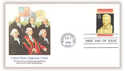 1989 25c Constitution Bicentennial: US Supreme Court