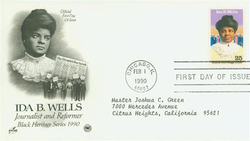 1990 25c Ida B. Wells