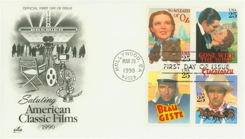 1990 25c Classic Films