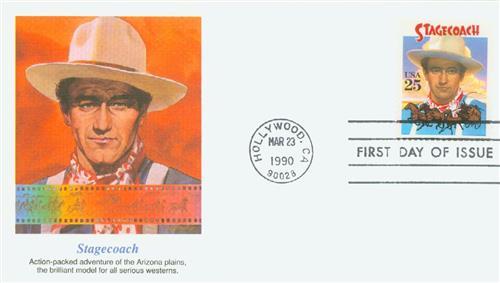 1990 25c Stagecoach