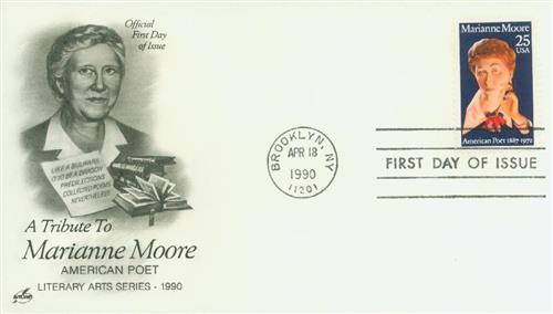 1990 25c Marianne Moore