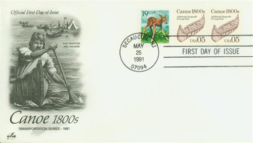 1991 5c Canoe coil