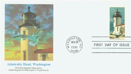 1990 25c Admiralty Head, Washington