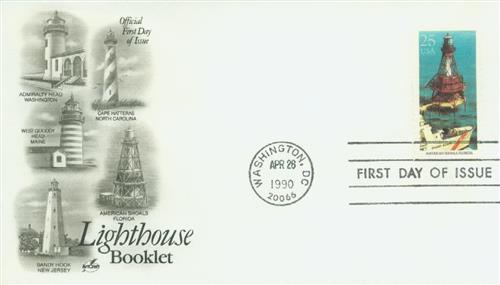 1990 25c American Shoals, Florida