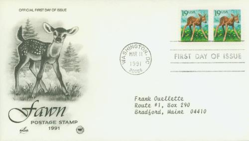 1991 19c Fawn