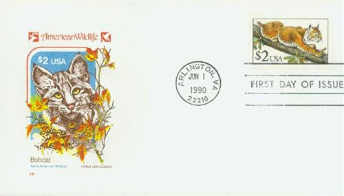 1990 $2 Bobcat