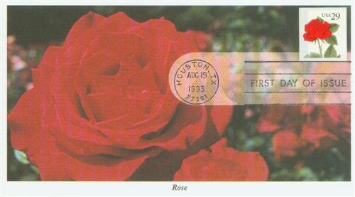 1993-95 29c Red Rose