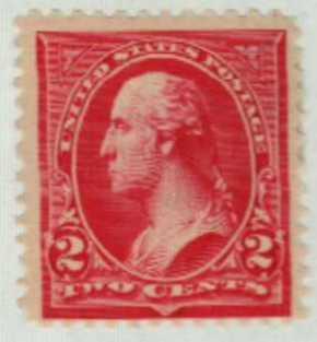 1894 2c Washington, carmine, unwatermarked, type III