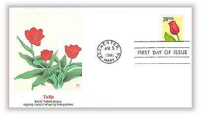 1991 29c Flower