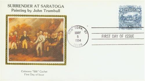 U.S. #2590 FDC – 1994 Saratoga First Day Cover.