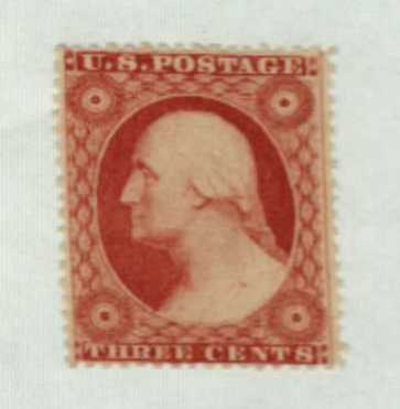 1857-61 3c Washington, type III