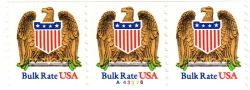 1991 10c Eagle and Shield, ABN coil