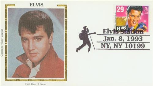 1993 29c Elvis Presley For Sale At Mystic Stamp Company