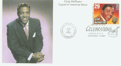 1993 29c Legends of American Music: Clyde McPhatter