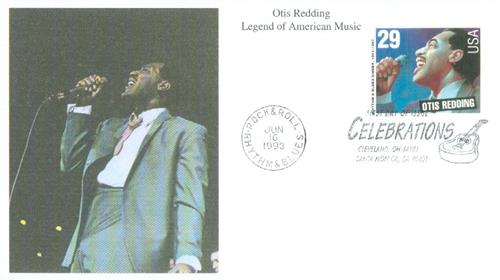 1993 29c Legends of American Music: Otis Redding