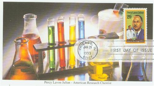 1993 29c Black Heritage: Percy Lavon Julian