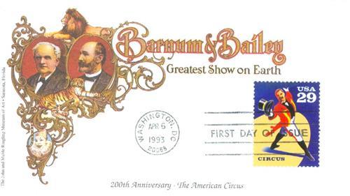 1993 29c Circus: Ringmaster