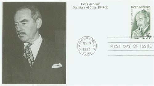 1993 29c Dean Acheson