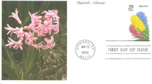 1993 29c Garden Flowers: Hyacinth