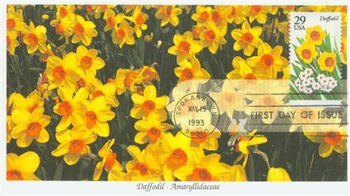 1993 29c Garden Flowers: Daffodil