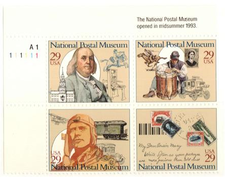 1993 29c National Postal Museum