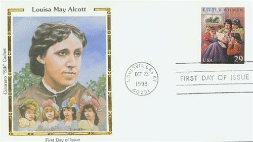 U.S. #2788 – Little Women Silk Cachet First Day Cover.