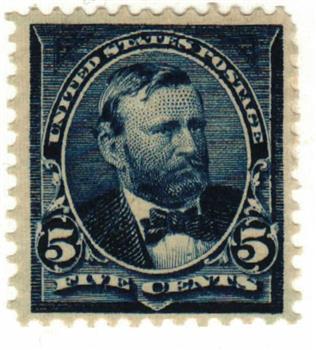 1898 5c Grant, dark blue