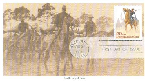 1994 29c Buffalo Soldiers