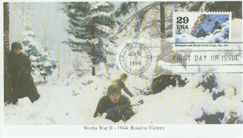1994 29c WWII: Bastogne and Battle of the Bulge