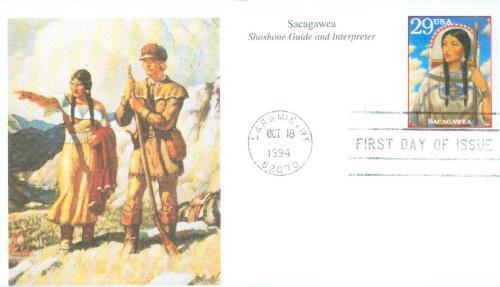 1994 29c Sacagawea,single