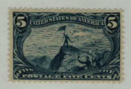 1898 5c Trans-Mississippi Exposition: Fremont in Rockies