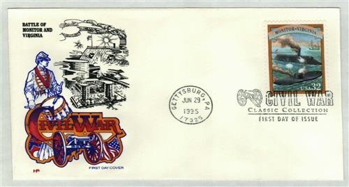 1995 Battle of Hampton Roads Classic First Day Cover