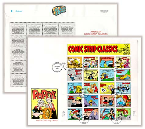 1995 32c Comic Strip Classics