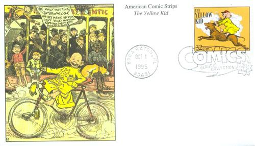 1995 32c Comic Strip Classics: The Yellow Kid