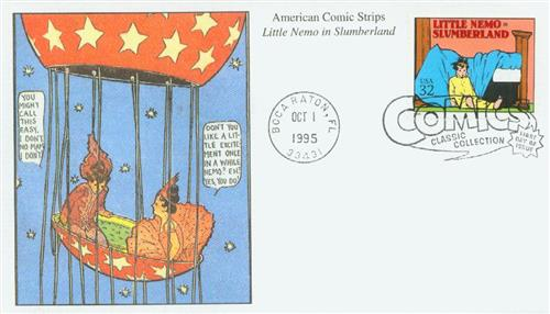 1995 32c Comic Strip Classics: Little Nemo in Slumberland