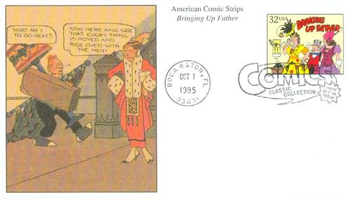1995 32c Comic Strip Classics: Bringing Up Father