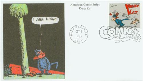 1995 32c Comic Strip Classics: Krazy Kat