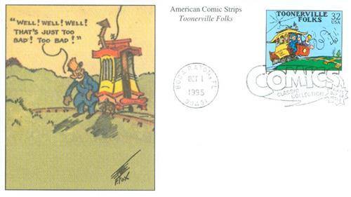1995 32c Comic Strip Classics: Toonerville Folks