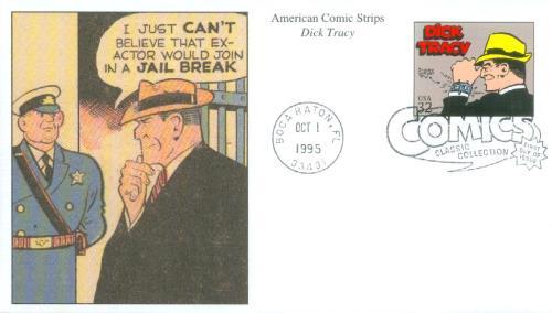 1995 32c Comic Strip Classics: Dick Tracy