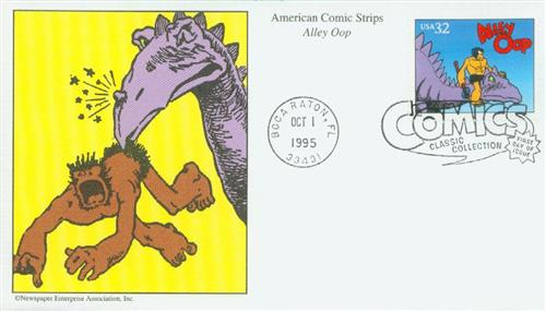 1995 32c Comic Strip Classics: Alley Oop