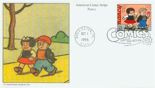 1995 32c Comic Strip Classics: Nancy