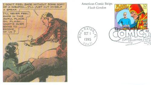 1995 32c Comic Strip Classics: Flash Gordon