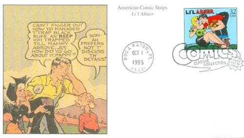 1995 32c Comic Strip Classics: Li'l Abner