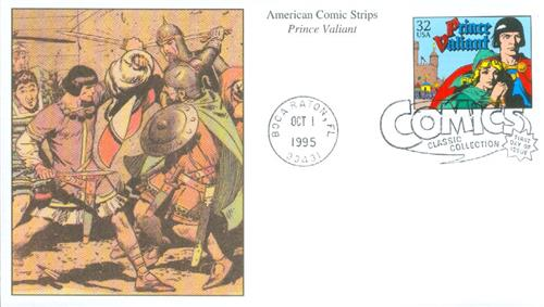 1995 32c Comic Strip Classics: Prince Valiant