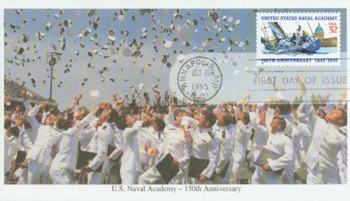 1995 32c United States Naval Academy