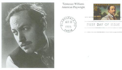1995 32c Literary Arts: Tennessee Williams