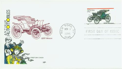 1995 Winton Classic First Day Cover