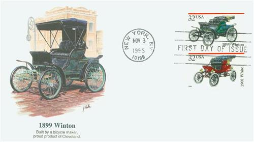 1995 Winton Fleetwood First Day Cover