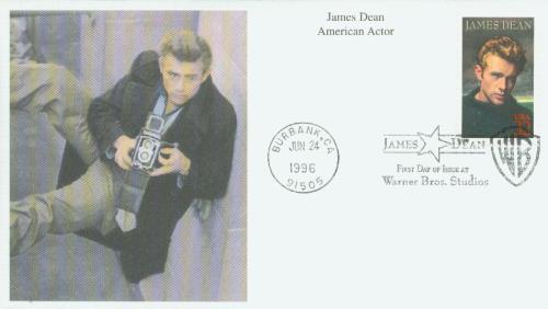 1996 32c Legends of Hollywood: James Dean